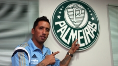Paraguayský útočník Lucas Barrios zakotvil v brazilském Palmeiras
